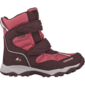 Viking Footwear Bluster II GTX Talvisaappaat Lapset, wine/red